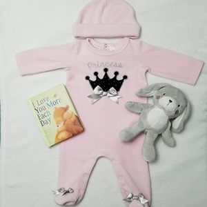 [First Impressions] Princess Pajamas 0-3 Months